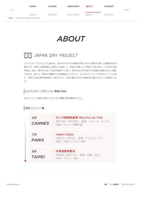 ジャパンデイ プロジェクトについて – ジャパンデイ プロジェクト